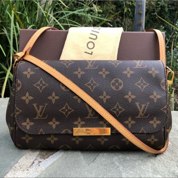 0dce6e71cab8 Louis Vuitton Handbags - 💯LV Mono. Favorite MM •W DUST BAG